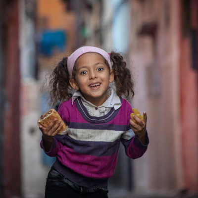 Girl in Marrakesh