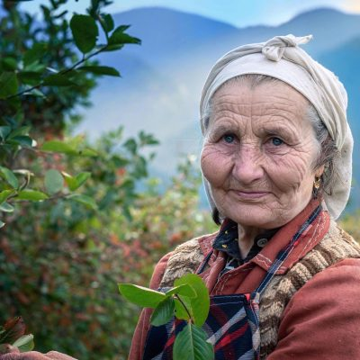 Woman from the Rhodope Mountains