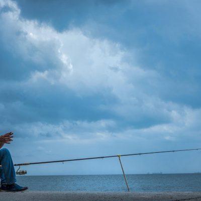 Fisherman in Varna