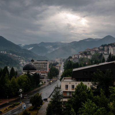 The town of Smolyan