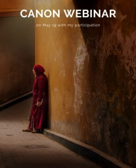 Canon webinar on May 19 with my participation