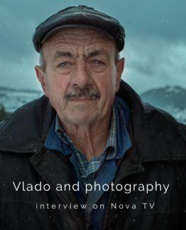 Vlado and photography – interview on Nova TV