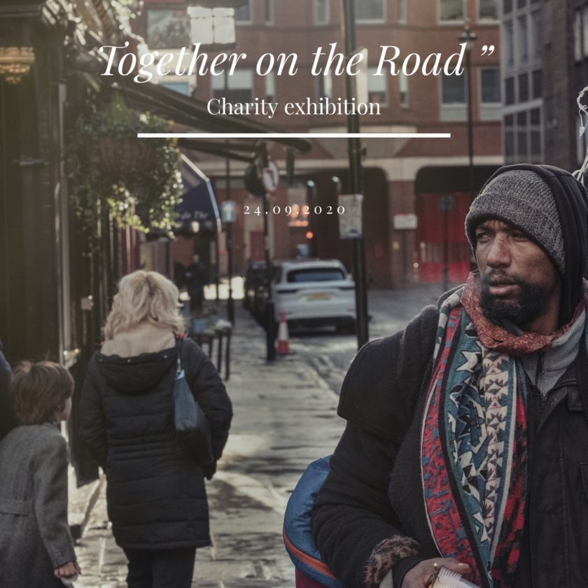 "Together on the Road ""- charity exhibition"