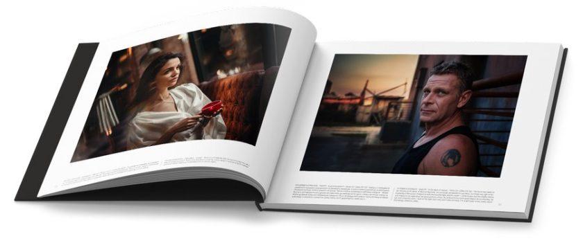 Два кадъра в годишният албум на Фото Форум
