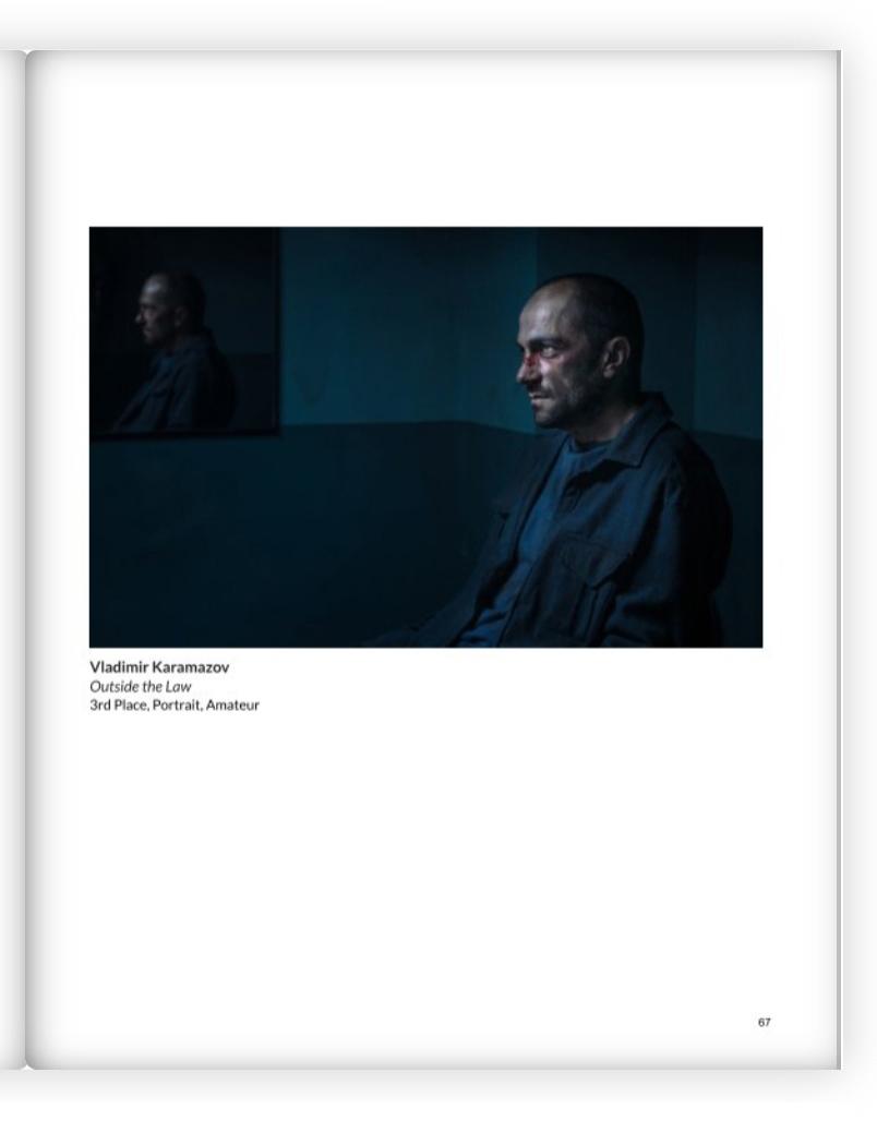 Мои снимки в четвърта годишна книга на Chromatic Awards